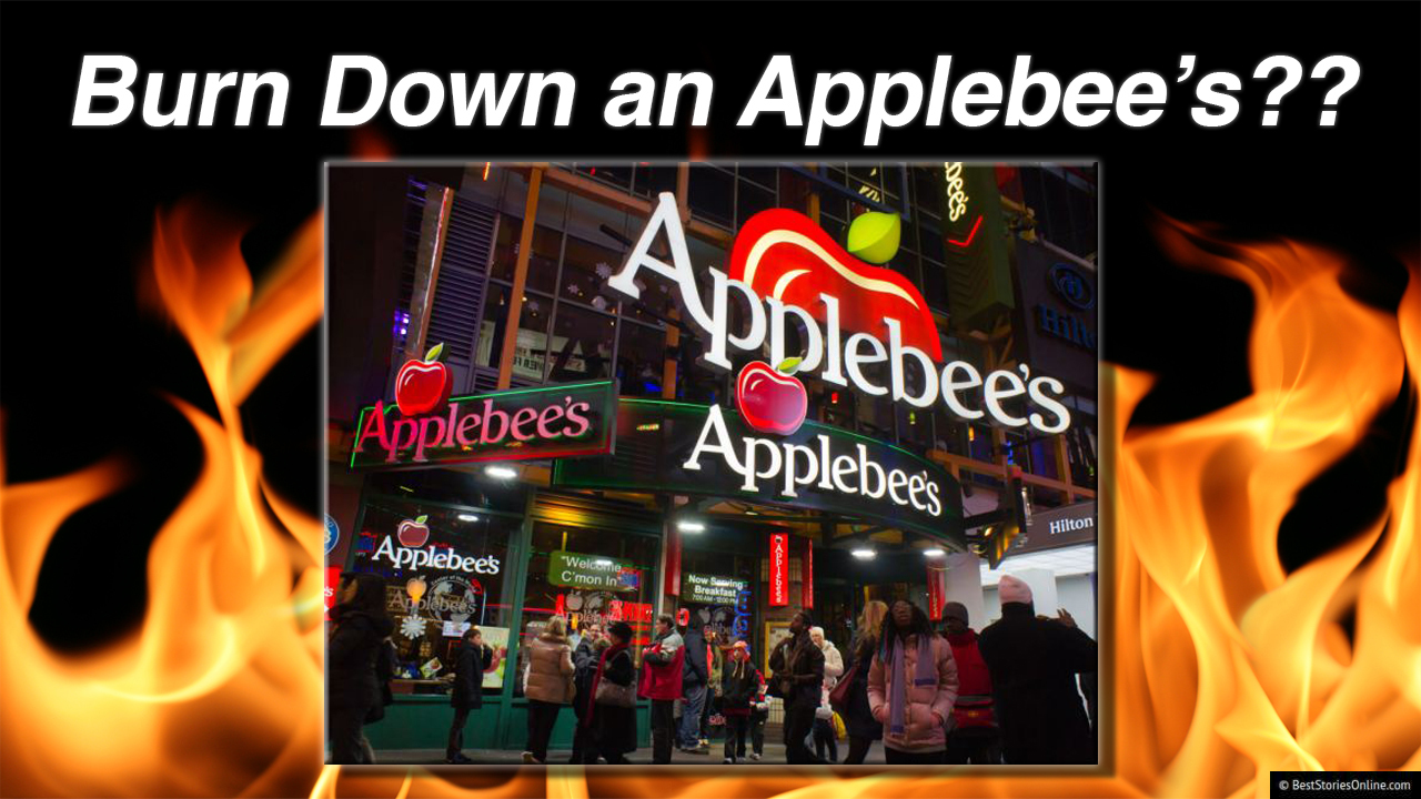 The Miami Applebee's Mr. Bonndersman attempted to burn down for refusing his refund request.