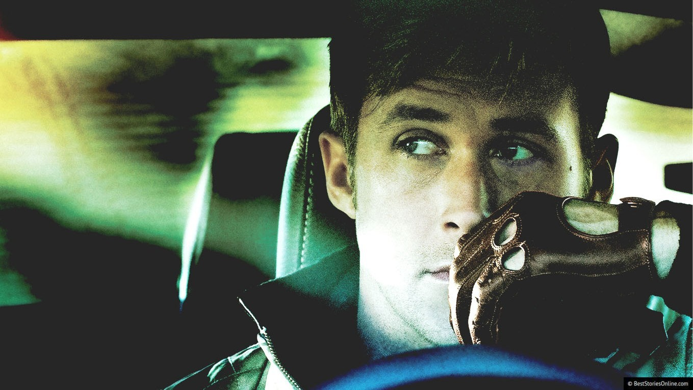 Pictured: A still of Ryan Gosling in 'Drive' (2011).