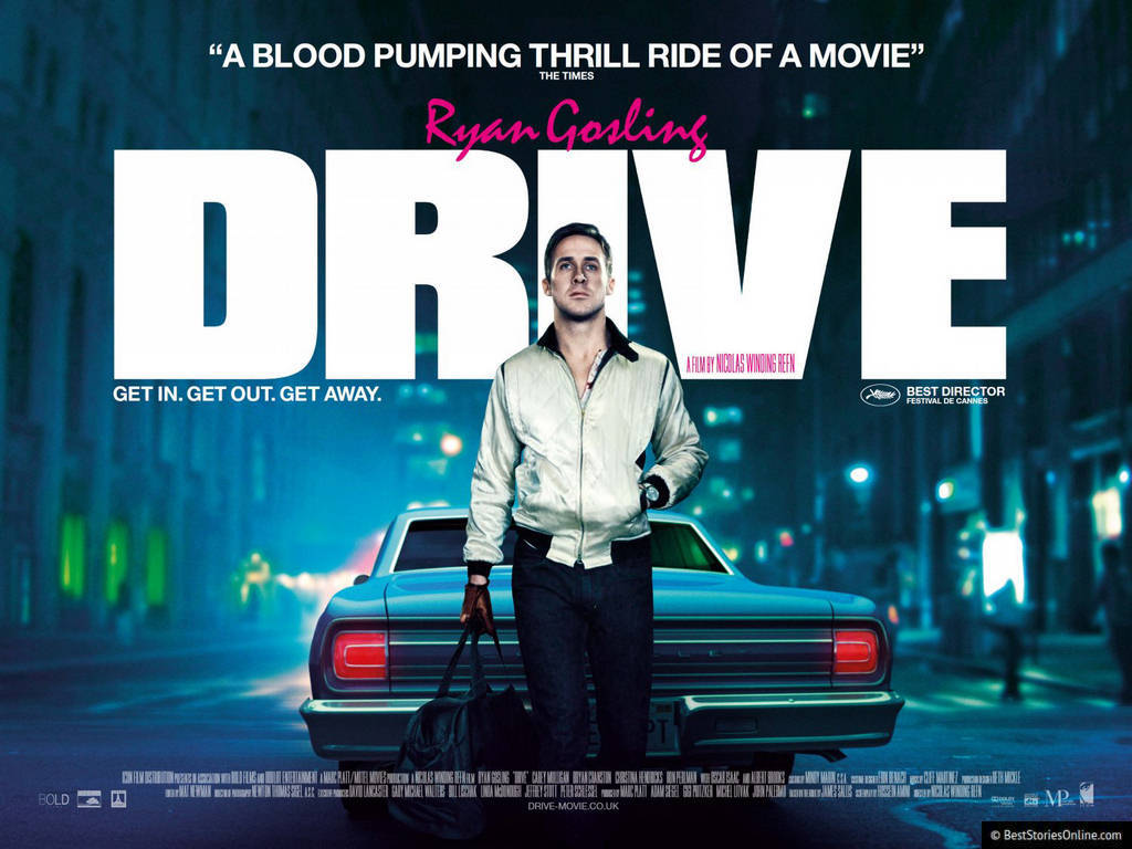Pictured: A promotional image of 'Drive' (2011).