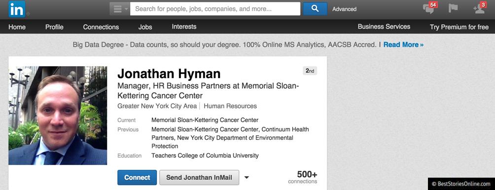 Jonathan Hyman.
