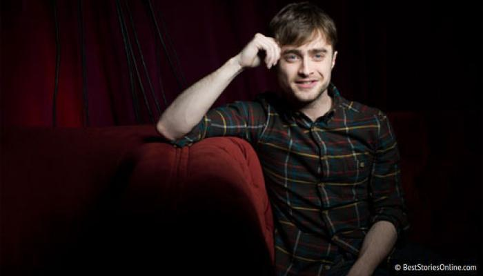 Pictured: Actor Daniel Radcliffe in a promotional photo.